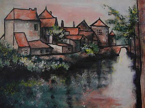 Old little village by Jorge Parellada