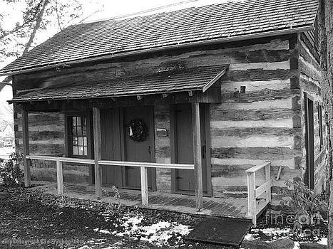 Old Log Cabin by R A W M