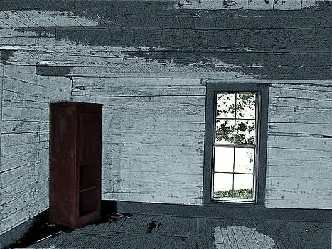 Old Log House Interior by Joyce  Wasser