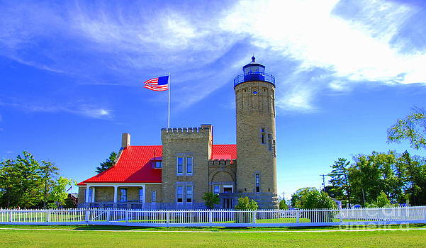 Old Mackinac Point Lighthouse by Christy Phillips