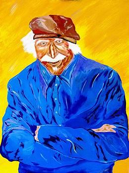 Old Man Hawk-Artist Rendition by Bill Manson