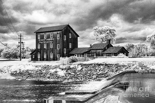Old Mill In Frankenmuth by Jeff Holbrook