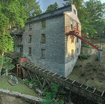 Old Mill by Perry Harmon
