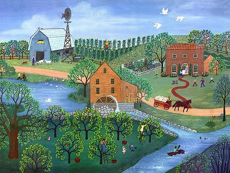 Linda Mears - Old Mill Stream