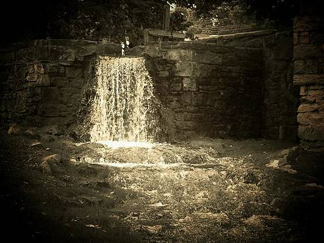 Old Mill Waterfall by Joyce Kimble Smith