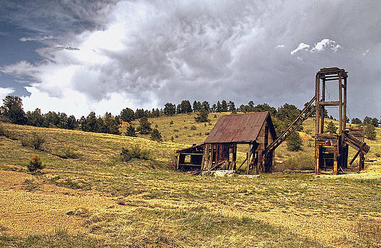 James Steele - Old Mine in Gilpin County Colorado