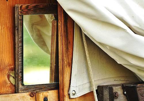 Kae Cheatham - Old Mirror on Chuck Wagon