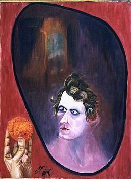 Old Mirror  by Vladimir A Shvartsman