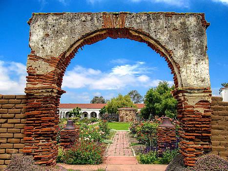 Old Mission San Luis Rey by Joe Urbz