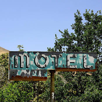 Art Block Collections - Old Motel Sign