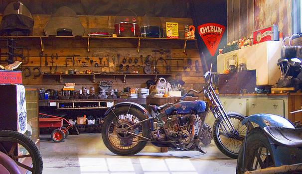 Mike McGlothlen - Old Motorcycle Shop 2