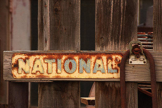 Art Block Collections - Old National Sign