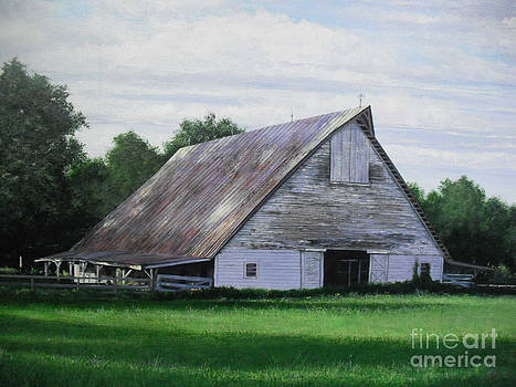 Old N.C. Barn by Phil Christman