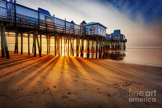 Jo Ann Snover - Old Orchard Beach pier