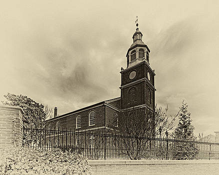 Bill Swartwout Fine Art Photography - Old Otterbein Church Olde Tyme Photo