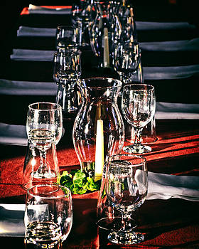 Bill Swartwout Fine Art Photography - Old Otterbein Colonial Dinner Table