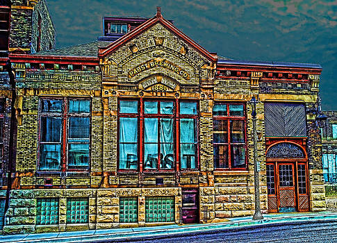LAWRENCE CHRISTOPHER - OLD PABST BREWERY MILWAUKEE 1860 HOME OF BLUE RIBBON BEER