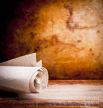 Tim Hester - Old Parchment Paper Scroll