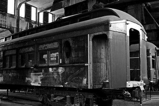 Old Passenger Car by Sasha Wolfe