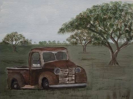 Old Pickup by Michelle Treanor