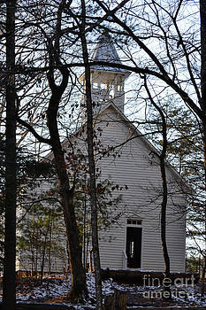 Old Pioneer Church by Eva Thomas