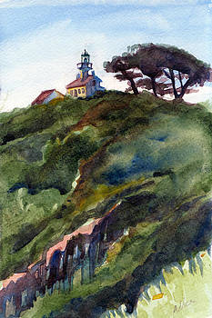 Old Point Loma Lighthouse by Alice Picado