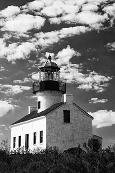 Guy Shultz - Old Point Loma Lighthouse BW