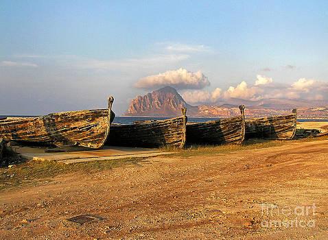 Old Port - Trapani - Sicily by Silva Wischeropp