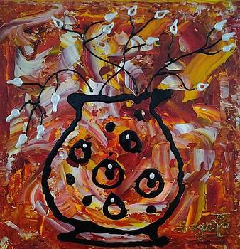 Old Pot by Edwina Sage Washington