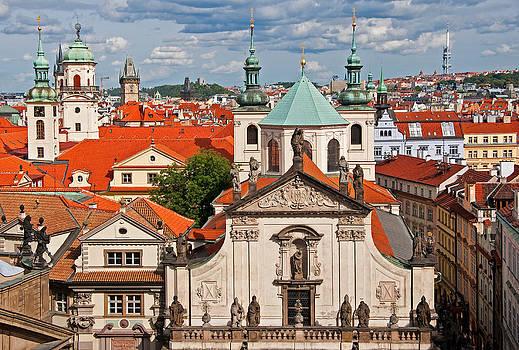 Dennis Cox - Old Prague steeples