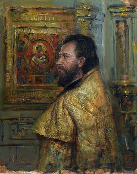 Old Priest by Kartashov Andrey