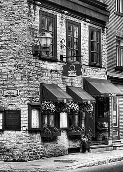 Mel Steinhauer - Old Quebec City 16 BW