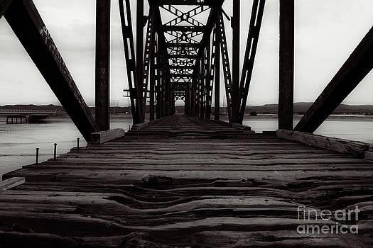 Old Railroad Trestle Bridge by Miss Dawn