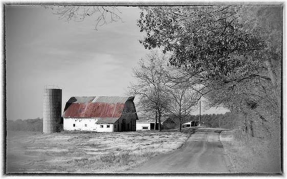 Old Red Barn by Kathy Williams-Walkup