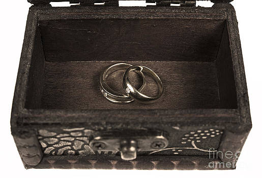 Old Ring In Ancient Treasure Chest by Pakorn Kitpaiboolwat