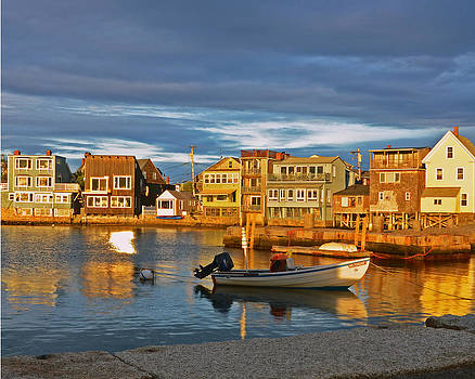 Old Rockport Harbor by Dave Saltonstall