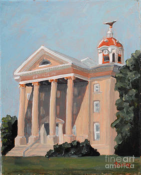 Old Salem Court House by Todd Bandy