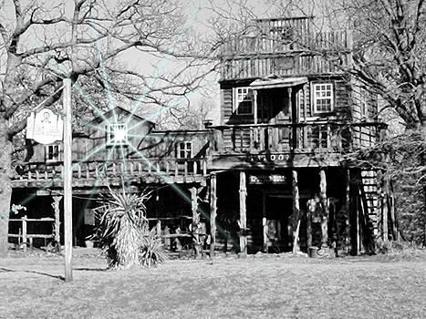 Old Saloon by Trevor Hilton