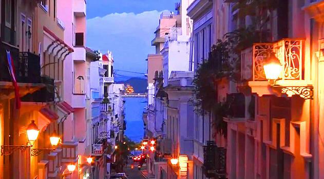 Old San Juan Puerto Rico by Vel Verrept