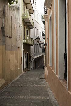 Old San Juan Street by Frank Morales Jr