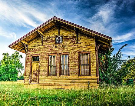 Old Santa Fe Train Depot by Geoff Mckay