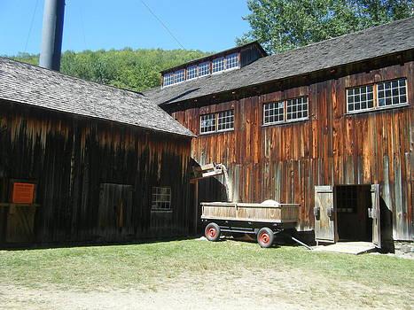 Old Sawmill by Amanda Bobb
