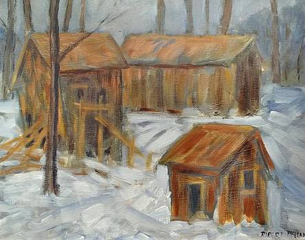 Old Sawmill by Robert McLean