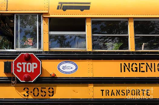 James Brunker - Old School Bus 2