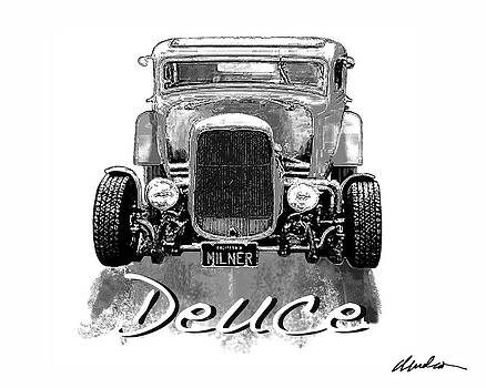 Old School Deuce by Barry Cleveland