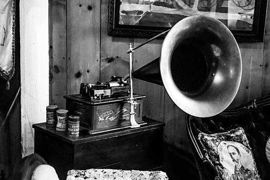 Old School Phonograph by Jason Brow