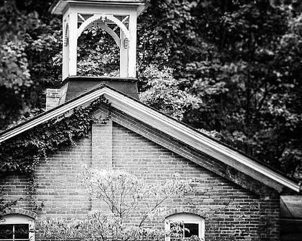Lisa Russo - Old Schoolhouse in Black and White