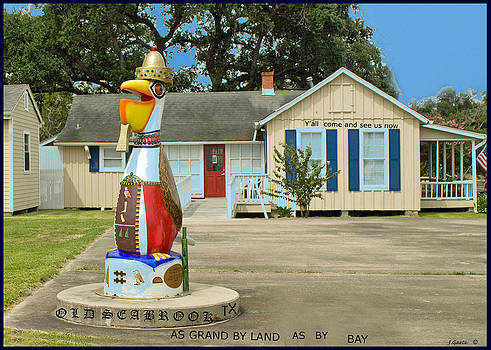 Old Seabrook Tx. by Jorge Gaete