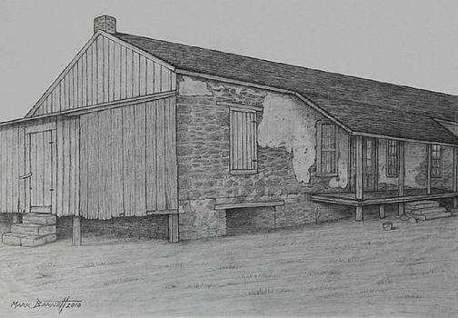 Old Seguin House by Mark Barnett
