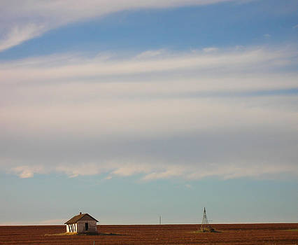Old Shack on the Plains by Susan Porter